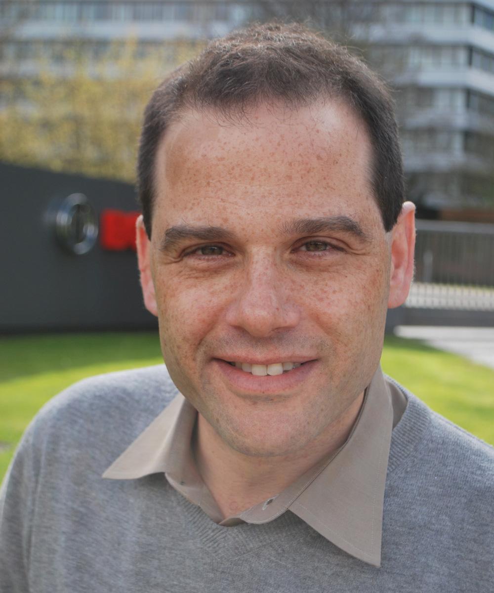 Dr. Amos Albert, Geschäftsführer der Robert Bosch Start-up GmbH